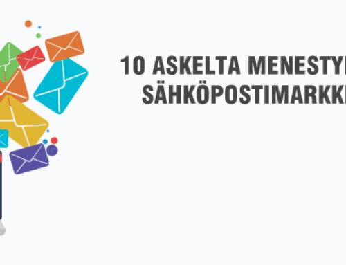 Sähköpostimarkkinointi – 10 vinkkiä